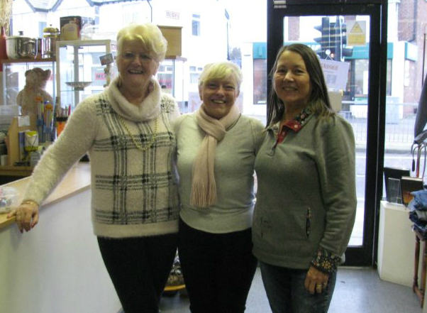 whcs charity shop volunteers