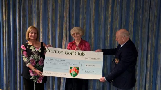 Prenton Golf Club Captains raise £5250 for WHCS